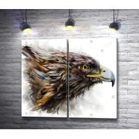 Орел смотрит вдаль