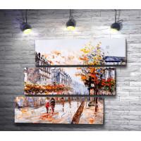 Прогулка по улицам осеннего Парижа