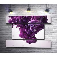 Пурпурный взрыв красок