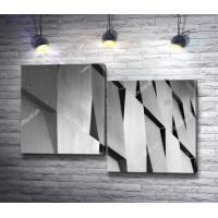 Геометрия на стене здания