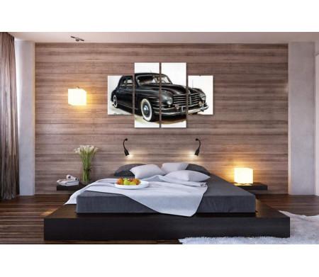 Ретро автомобиль Skoda Special, постер