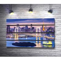 Радужный мост через северный Токийский залив