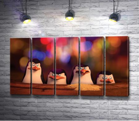 "Пингвины из мультфильма ""Мадагаскар"""
