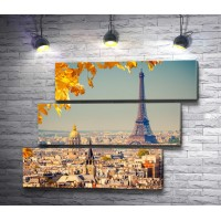 Эйфелевая башня в осеннюю пору, Париж