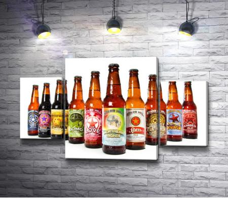 Бутылки пива марки Starr Hill