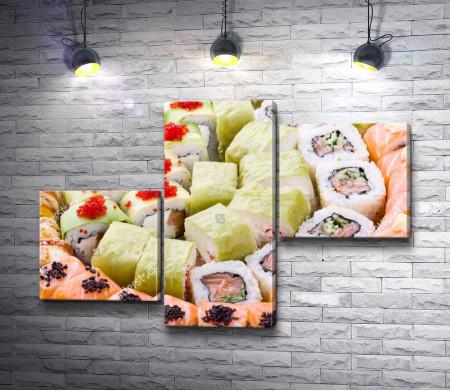 Суши-сет, японская кухня