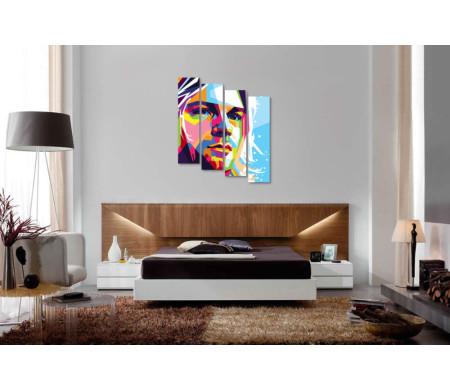Портрет музыканта Курта Кобейна