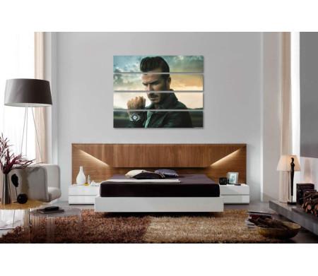 Футболист Дэвид Бекхэм и часы Breitling (Брайтлинг)