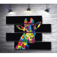 Радужный жираф