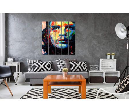 Креативный портрет Че Гевара