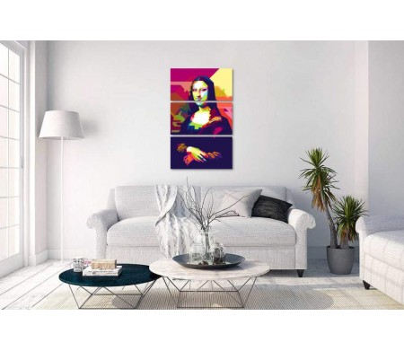 Мона Лиза. Арт-иллюстрация - Джоконда