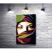 Арт-портрет восточной женщины
