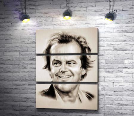 Джек Николсон, карандашный портрет