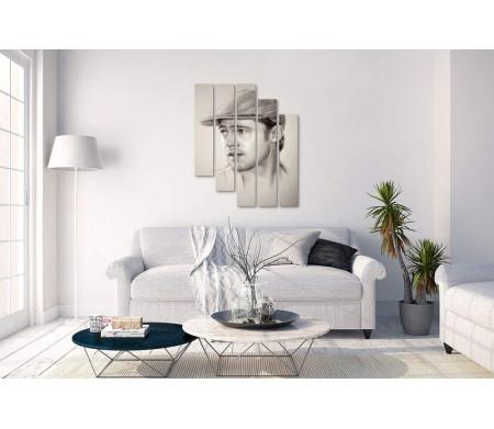 Графический портрет Брэда Питта