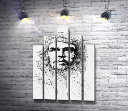 Графический портрет Эрнесто Че Гевара