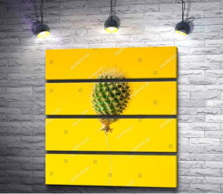 Креативный воздушный шар в виде кактуса