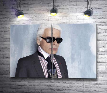 Карл Лагерфельд - легенда мира моды