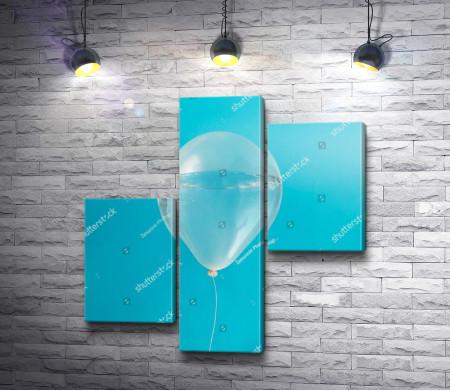 Воздушный шар с водой