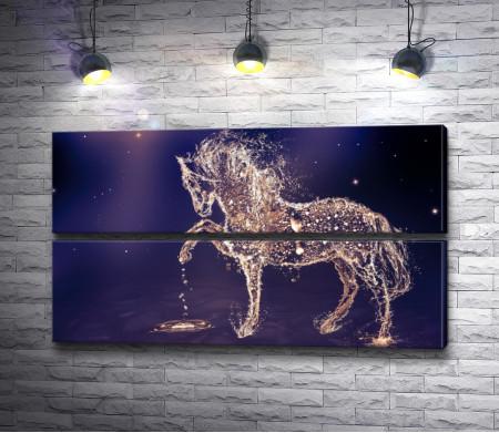 Грациозная лошадь из воды