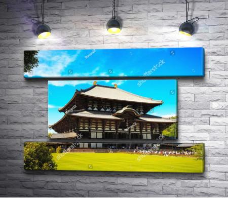 Древний буддийский храм Тодай-дзи, Япония