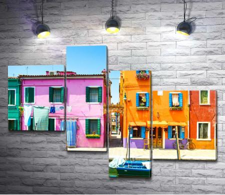 Красочные дома Венеции