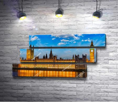Вестминстерский дворец с башней Биг Бен, Лондон