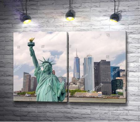 Статуя Свободы, главная достопримечательность Нью-Йорка