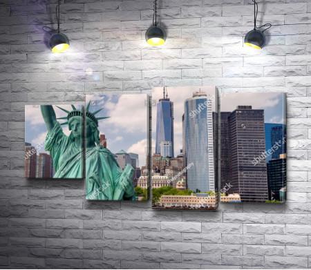 Великая Статуя Свободы, Нью-Йорк