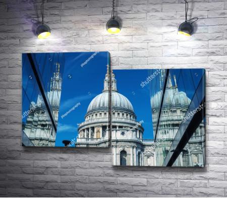Прекрасный вид на Собор Святого Павла, Лондон