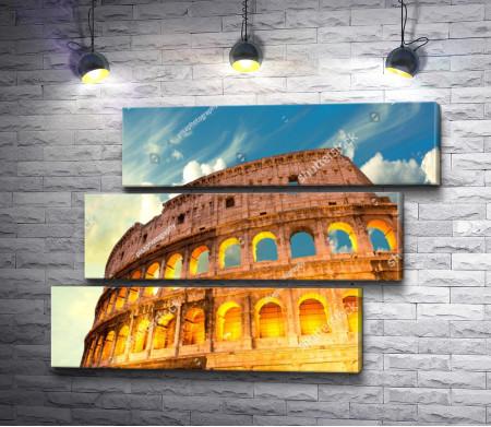 Колизей - памятник архитектуры Древнего Рима