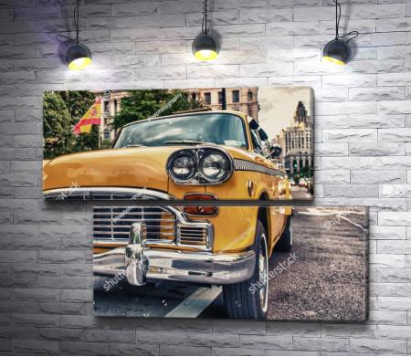 Желтое такси Divino Decor Б1-313