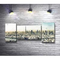 Панорамный вид на Дубай, ОАЭ