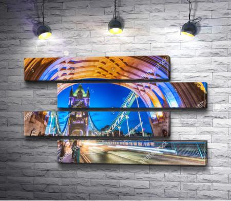 Красота Тауэрского моста, Лондон