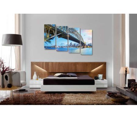 Мост Харбор-Бридж в Сиднее, Австралия
