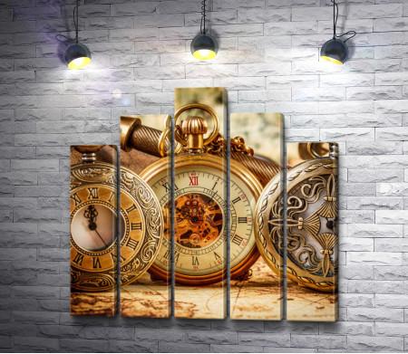 Карманные старинные часы