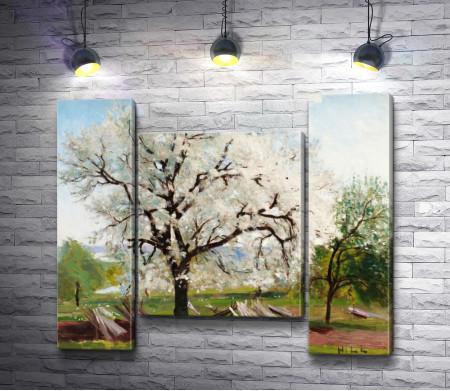 """Карл Фредрик Хилл """"Цветущее фруктовое дерево"""""""
