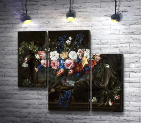 "Хуан Де Арельяно ""Натюрморт. Цветы"""