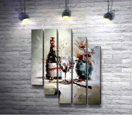 "Кал Гаджум ""Вино и бокал"""