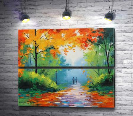 """Грэм Геркен """"Осенний парк"""" (Autumn Park)"""