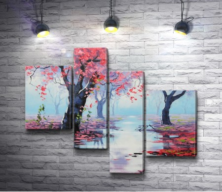 """Грэм Геркен """"Розовые деревья"""" (Pink Trees)"""