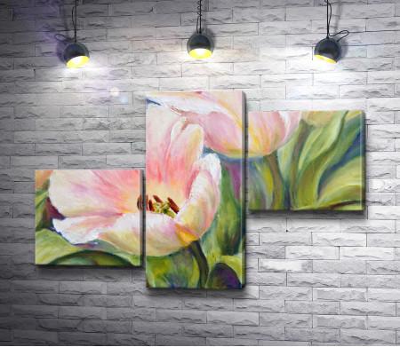 Игорь Левашов -Нежно-розовые тюльпаны