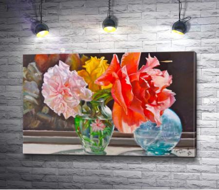 Игорь Левашов - Цветы в вазе