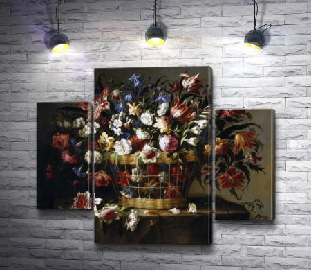 Хуан де Арельяно - Натюрморт с цветами