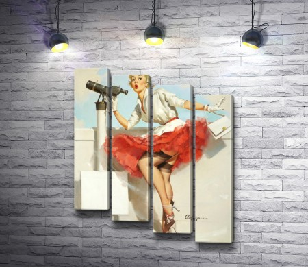Джил Элвгрен - Pin Up Girls