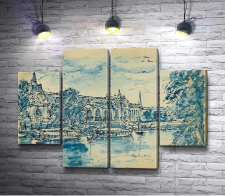 """Константин Коровин """"Paris. Boulevard Saint Berwick"""""""