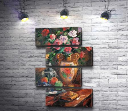 """Константин Коровин """"Still life with flowers"""""""
