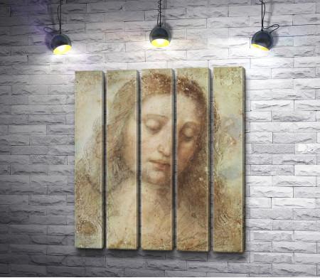 """Леонардо да Винчи """"Head of Christ"""""""