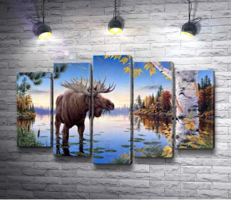 "Марк Даелин ""Autumn Majesty Moose"""