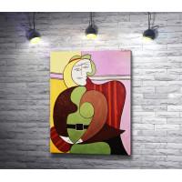 """Пабло Пикассо """"Портрет девушки"""""""