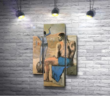 """Пабло Пикассо """"Девочка на шаре"""""""